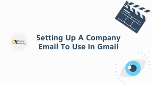 Creating a company to use email in Gmail