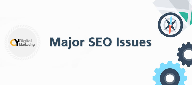 major SEO issues with outsourcing