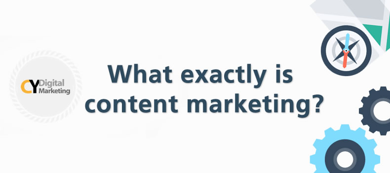 What exactly is content marketing