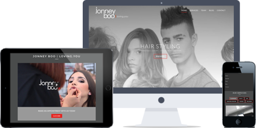 jonney boo hairdressers paphos